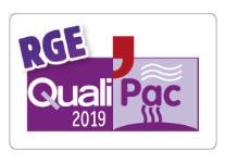 Certificat RGE QualiPac Aficlim